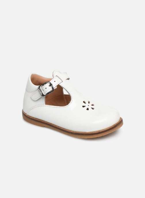 Ballet pumps Aster Noria White detailed view/ Pair view