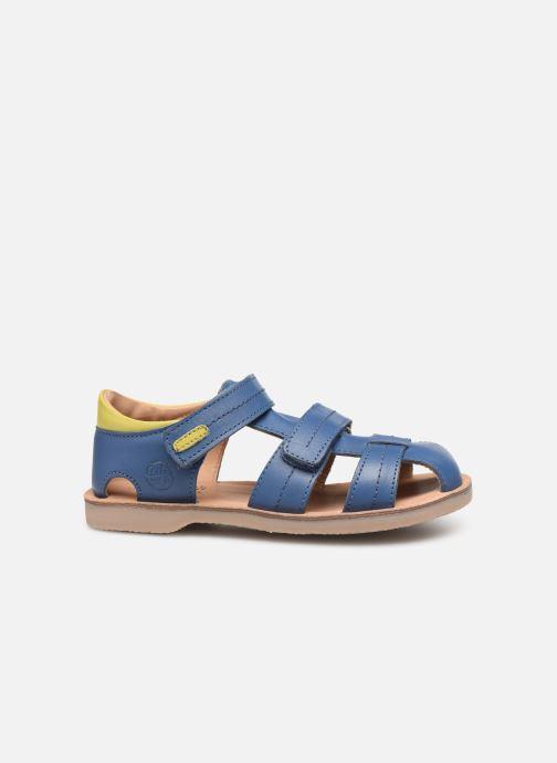 Sandales et nu-pieds Aster Perceval Bleu vue derrière
