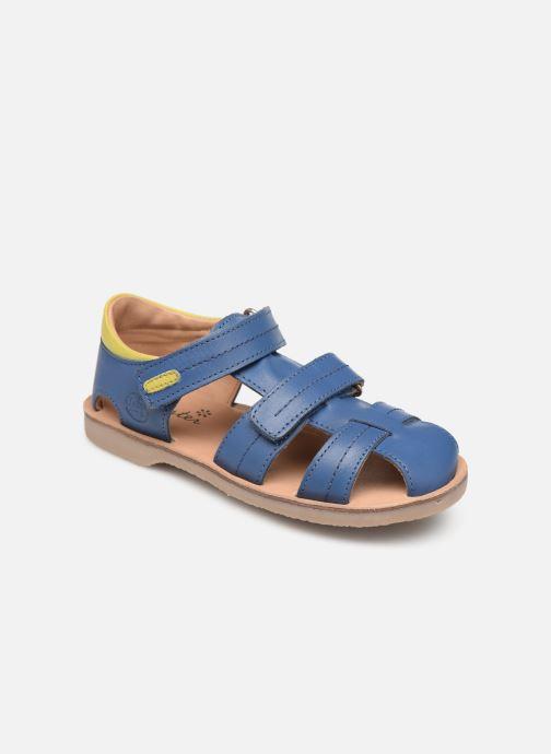 Sandales et nu-pieds Aster Perceval Bleu vue détail/paire