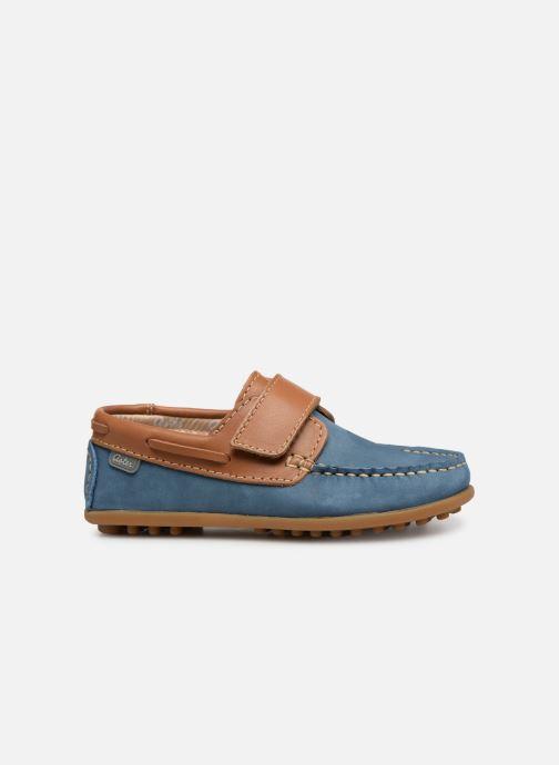 Schoenen met klitteband Aster Micado Blauw achterkant