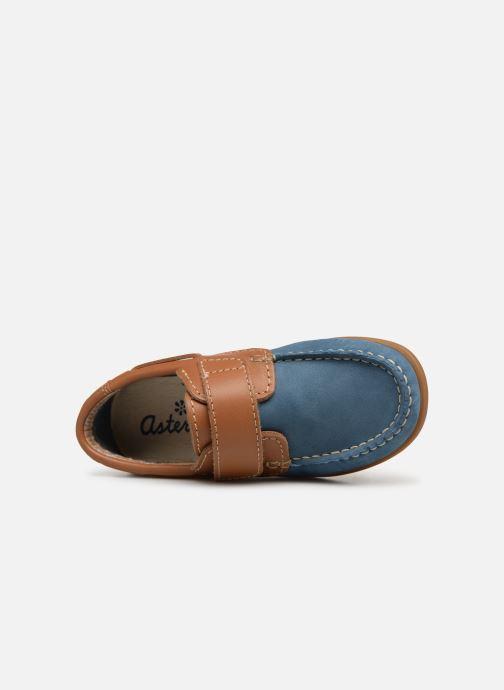 Schoenen met klitteband Aster Micado Blauw links