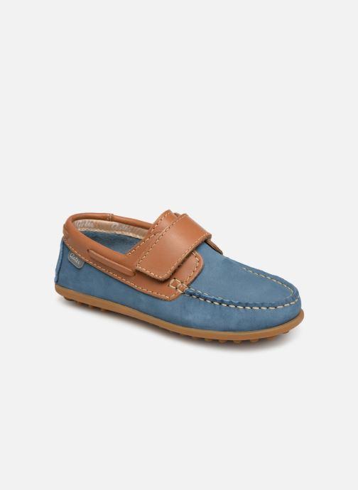 Chaussures à scratch Aster Micado Bleu vue détail/paire
