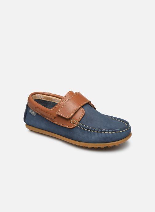 Zapatos con velcro Aster Micado Azul vista de detalle / par
