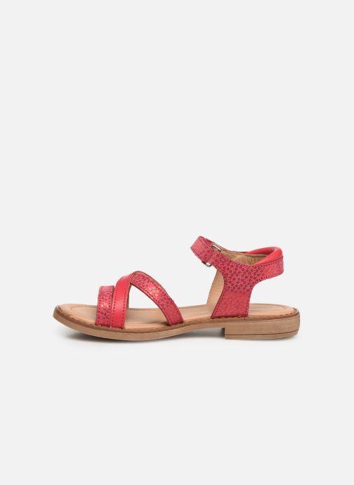 Sandales et nu-pieds Aster Tessia Rose vue face