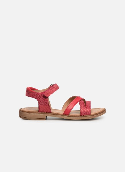 Sandales et nu-pieds Aster Tessia Rose vue derrière