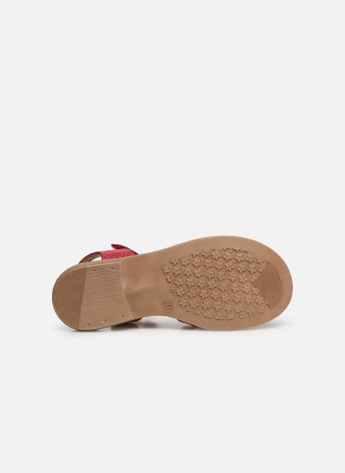 Sandales et nu-pieds Aster Tessia Rose vue haut