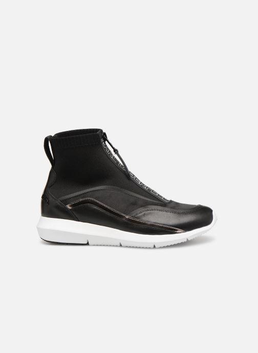 Sneakers KARL LAGERFELD Vitesse Knit Sock Zip Zwart achterkant