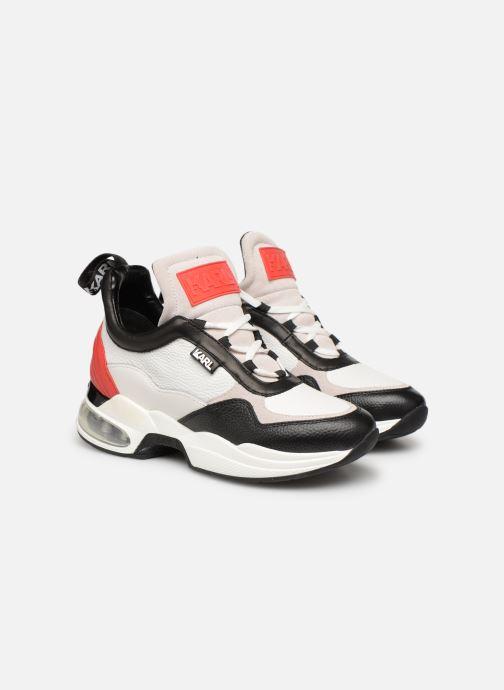 Sneaker KARL LAGERFELD Ventura Lazare Mid II Lthr weiß 3 von 4 ansichten