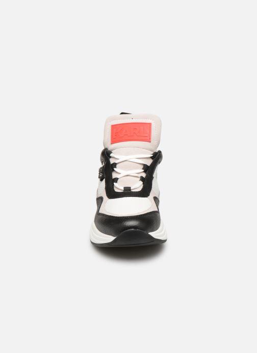 Baskets KARL LAGERFELD Ventura Lazare Mid II Lthr Blanc vue portées chaussures