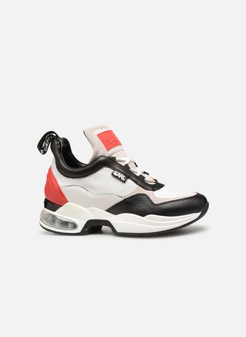 Sneaker KARL LAGERFELD Ventura Lazare Mid II Lthr weiß ansicht von hinten