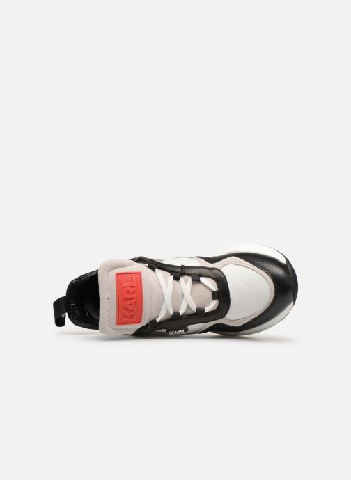 Trainers KARL LAGERFELD Ventura Lazare Mid II Lthr White view from the left