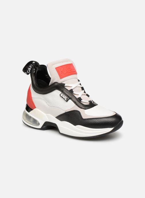 Sneaker KARL LAGERFELD Ventura Lazare Mid II Lthr weiß detaillierte ansicht/modell