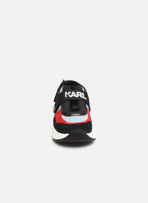 Baskets KARL LAGERFELD Ventura Shuttle Slingback Bleu vue portées chaussures