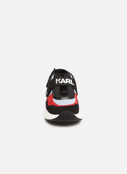 Sneaker Karl Lagerfeld Ventura Shuttle Slingback blau schuhe getragen