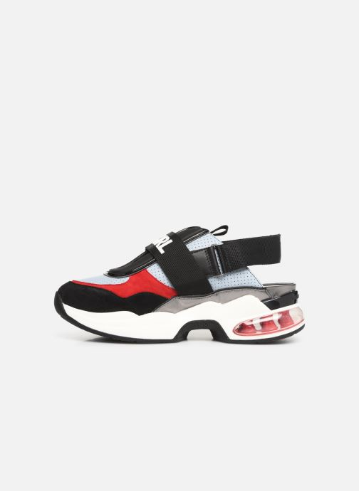 Sneakers KARL LAGERFELD Ventura Shuttle Slingback Blauw voorkant