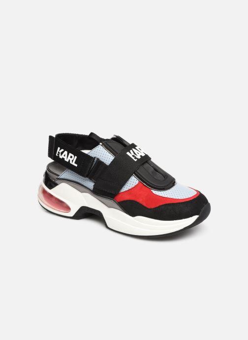 Sneakers KARL LAGERFELD Ventura Shuttle Slingback Blauw detail