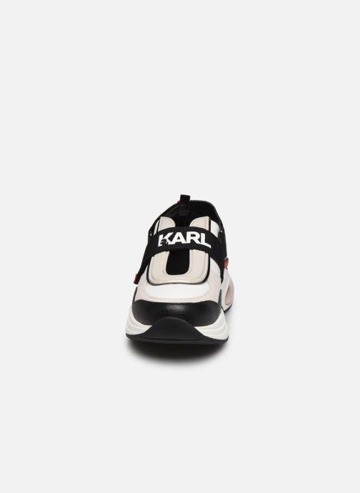 Baskets Karl Lagerfeld Ventura Shuttle Slingback Multicolore vue portées chaussures
