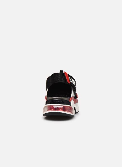 Baskets Karl Lagerfeld Ventura Shuttle Slingback Multicolore vue droite