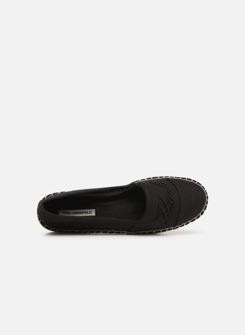 Espadrilles KARL LAGERFELD Kamini Signature Slip On Zwart links