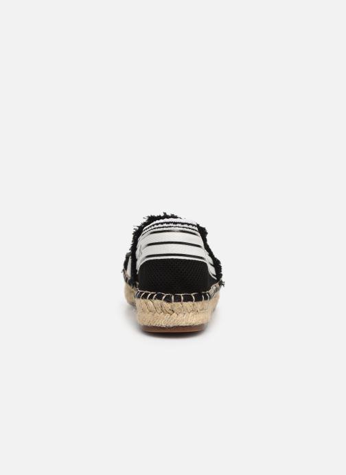 Espadrilles Karl Lagerfeld Kamini Patchwork Slip On Noir vue droite