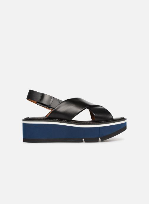 Sandales et nu-pieds Clergerie Anae Noir vue derrière