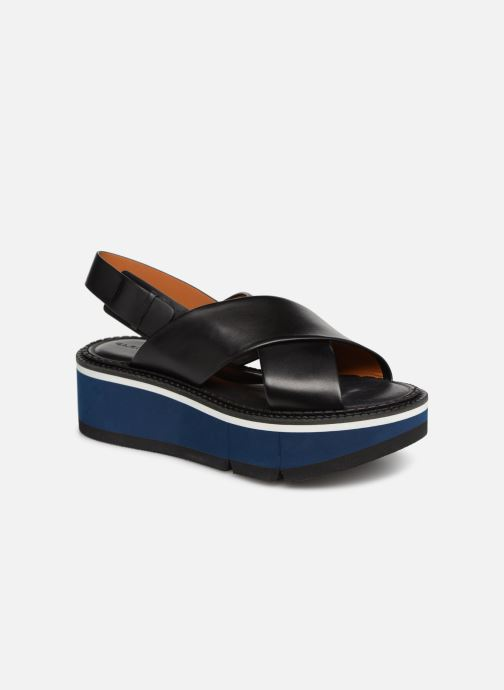 Sandales et nu-pieds Clergerie Anae Noir vue détail/paire