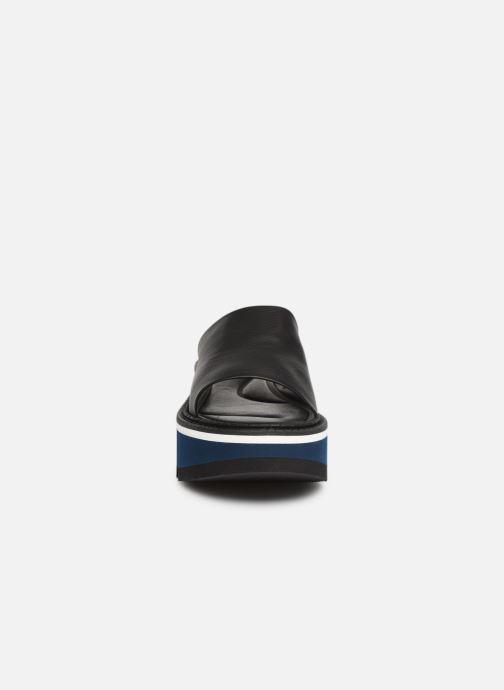 Mules et sabots Clergerie Affect Noir vue portées chaussures