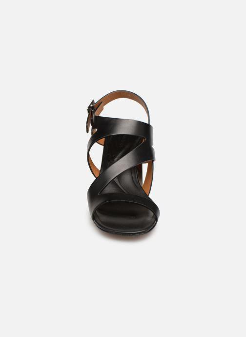 Sandales et nu-pieds Clergerie Above Noir vue portées chaussures