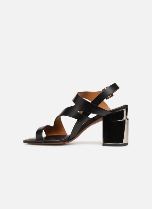 Sandales et nu-pieds Clergerie Above Noir vue face