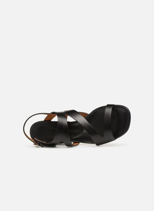 Sandales et nu-pieds Clergerie Above Noir vue gauche