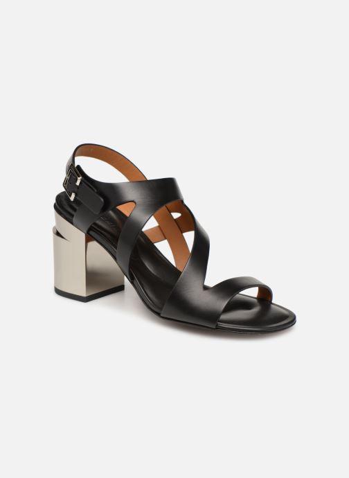 Sandales et nu-pieds Clergerie Above Noir vue détail/paire