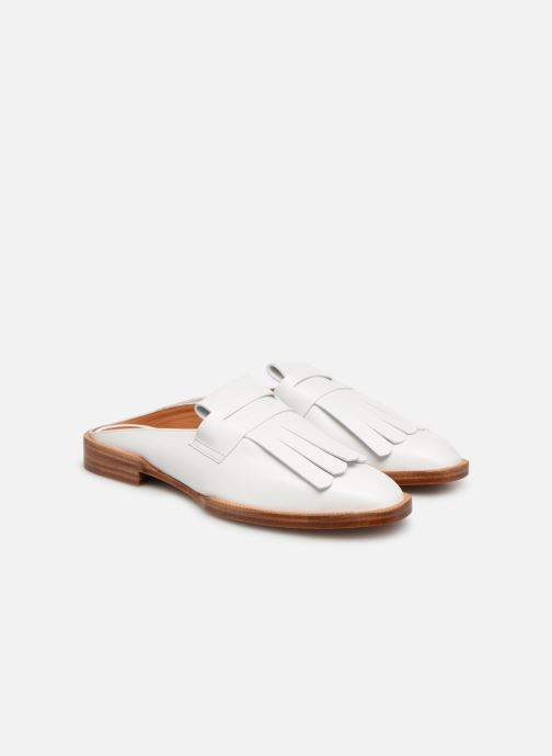 Mules & clogs Clergerie Yumi White 3/4 view