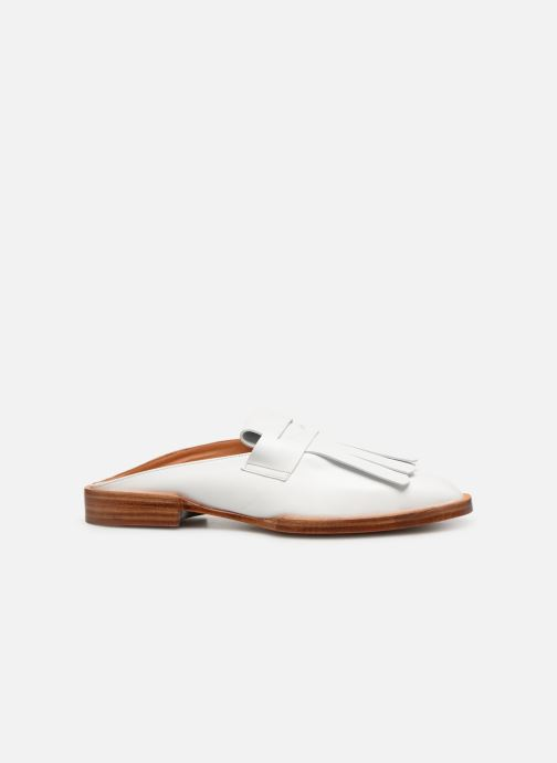 Wedges Clergerie Yumi Wit achterkant