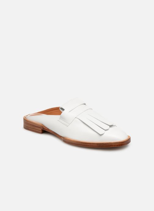 Mules & clogs Clergerie Yumi White detailed view/ Pair view
