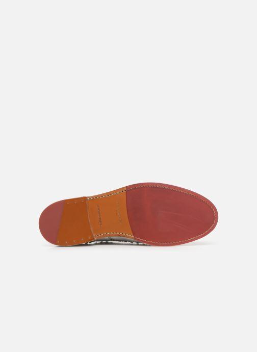 Chaussures à lacets Clergerie Rocker Blanc vue haut