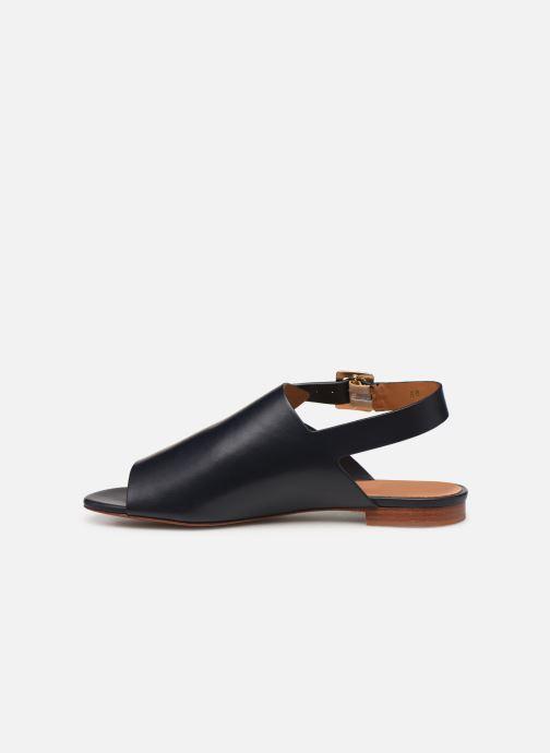 Sandales et nu-pieds Clergerie Ada Bleu vue face