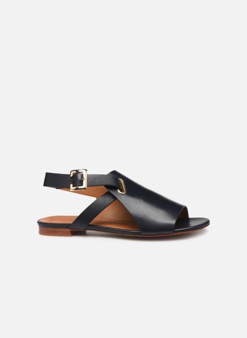 Sandales et nu-pieds Clergerie Ada Bleu vue derrière