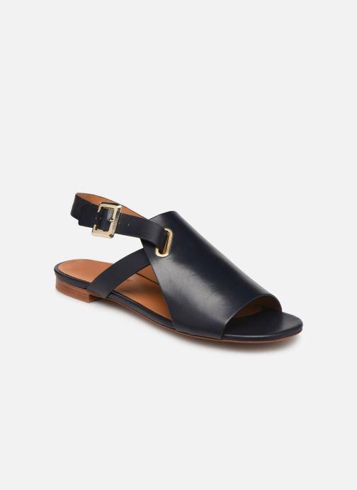 Sandales et nu-pieds Clergerie Ada Bleu vue détail/paire