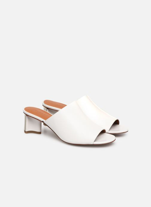 Wedges Clergerie Agile Wit 3/4'