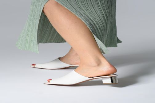 Wedges Clergerie Agile Wit onder