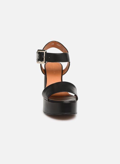 Sandales et nu-pieds Clergerie Altesse Noir vue portées chaussures