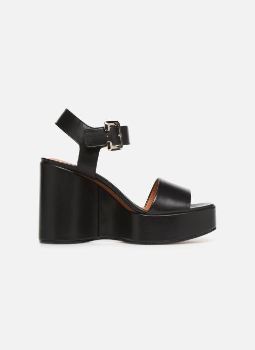 Sandales et nu-pieds Clergerie Altesse Noir vue derrière