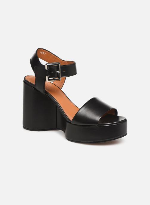 Sandales et nu-pieds Clergerie Altesse Noir vue détail/paire