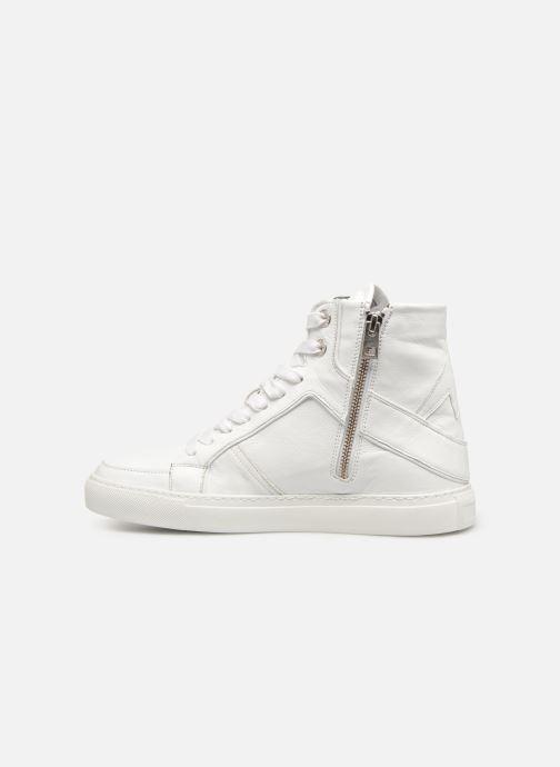 Sneakers Zadig & Voltaire ZV1747 High Fla Wit voorkant