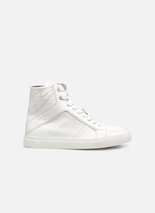 Sneakers Zadig & Voltaire ZV1747 High Fla Wit achterkant