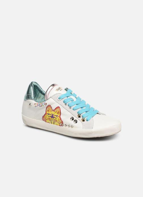 Baskets Zadig & Voltaire Zadig Rainbow Blanc vue détail/paire