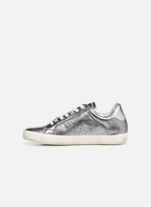 Sneakers Zadig & Voltaire Zadig Flash Ace Argento immagine frontale