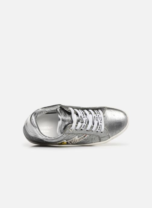 Sneakers Zadig & Voltaire Zadig Flash Ace Argento immagine sinistra