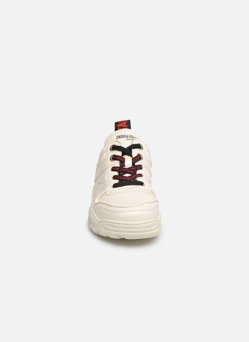 Baskets Zadig & Voltaire Blaze Blanc vue portées chaussures