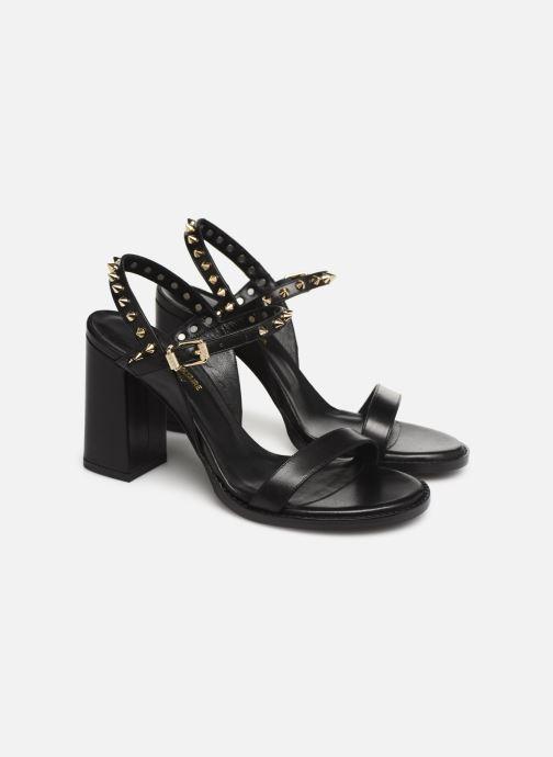 Sandales et nu-pieds Zadig & Voltaire Vogue Noir vue 3/4